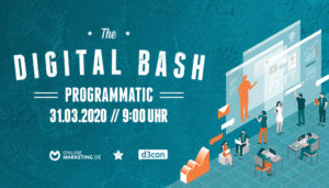 First Party Data als Instrument: The Digital Bash – Programmatic by d3con