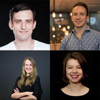 Sven Stühmeier | Vodafone, Max Melching | Douglas, Antonia Paal | innosabi GmbH, Melanie Pieper | Digital Marketing Expertin