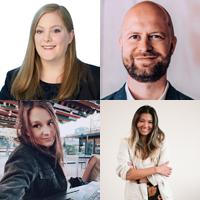 Sarah Sunderbrink | zooplus, Nemo Tronnier | Social DNA, Laura Andracchio | Dept, Jenny Song Schmidt | Gymondo